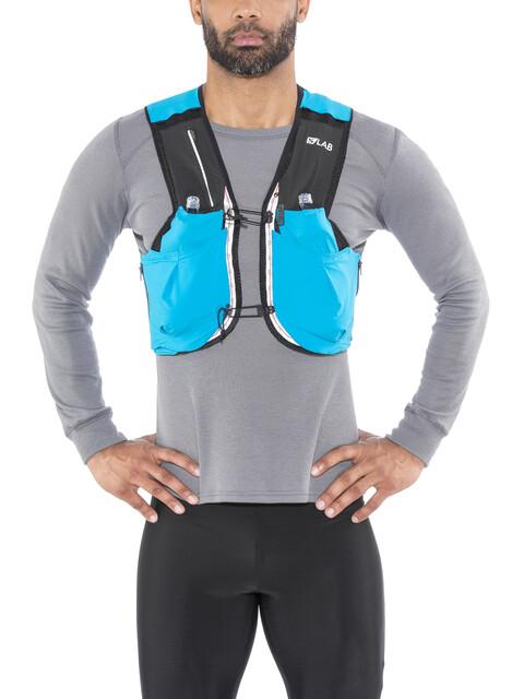 Salomon S/Lab Sense Ultra 5 Backpack Set transcend blue/black